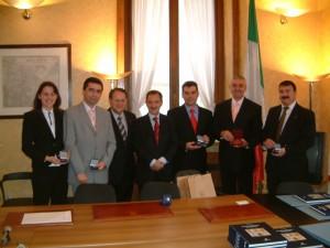 Visita delegazione Governo Romeno al Comune di Milano (2)