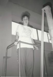 Barbara Guerini mentre arbitra