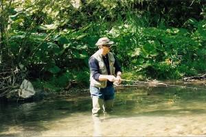 pesca con la mosca